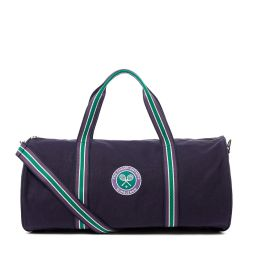 Wimbledon Clubhouse Barrel Bag - Navy