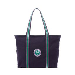 Wimbledon Clubhouse Beach Bag - Navy