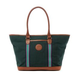 Wimbledon Clubhouse Tote Bag - Green