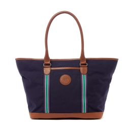 Wimbledon Clubhouse Tote Bag - Navy
