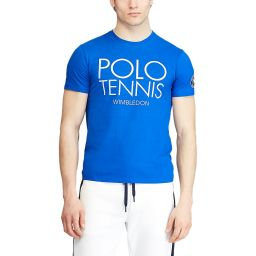 Polo Ralph Lauren Men's Polo Tennis T-shirt - Blue