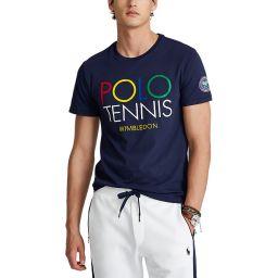 Polo Ralph Lauren Men's Polo Tennis T-shirt - Navy