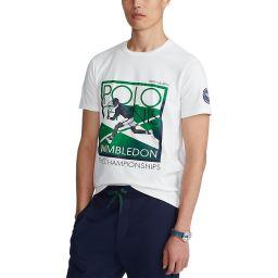 Polo Ralph Lauren Men's Graphic Tennis Player T-shirt - White