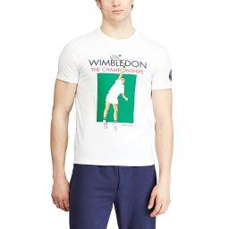 Polo Ralph Lauren Men's Tennis Player T-shirt - White