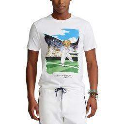 Polo Ralph Lauren Men's Bear T-Shirt- White