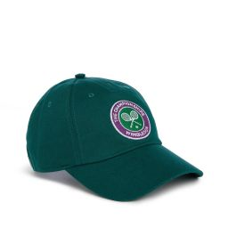The Championships, Wimbledon Logo Baseball Cap - Deep Green