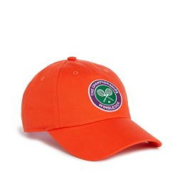 The Championships, Wimbledon Logo Baseball Cap - Orange