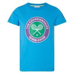 Kids Championships Logo T-Shirt - Blue