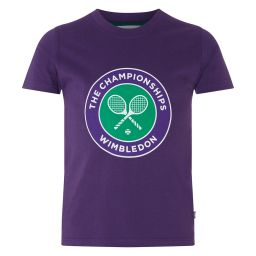 Kids Championships Logo T-Shirt - Crown Jewel