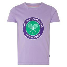 Kids Championships Logo T-Shirt - Bougainvillea