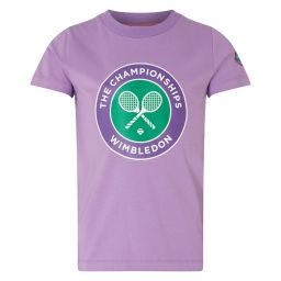 Kids Championships Logo T-Shirt - Lavender