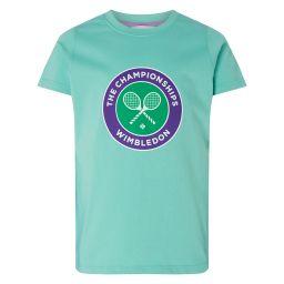 Kids Championships Logo T-Shirt - Mint