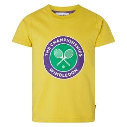 Kids Championships Logo T-Shirt - Sunshine