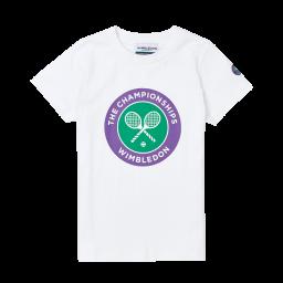 Kids Championships Logo T-Shirt - White