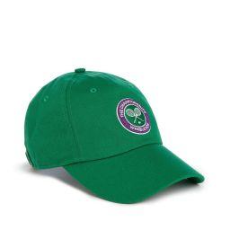 Kids Wimbledon Logo Baseball Cap - Green