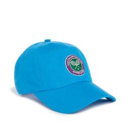 Kids Wimbledon Logo Baseball Cap - Blue