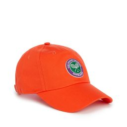 Kids Wimbledon Logo Baseball Cap - Orange