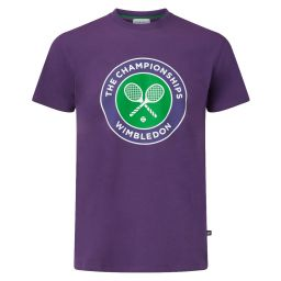 Men's Championships Logo T-Shirt - Purple