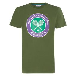 Men's Championships Logo T-Shirt - Duffle Green