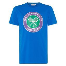 Men's Championships Wimbledon Logo T-Shirt - Lapis Blue