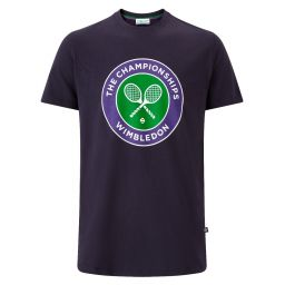 Men's Championships Wimbledon Logo T-Shirt - Midnight