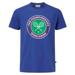 Men's Championships Logo T-Shirt - Ocean Blue