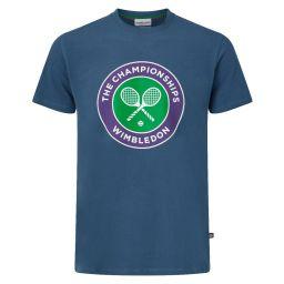 Men's Championships Logo T-Shirt - Poseiden