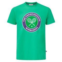 Men's Championships Logo T-Shirt - Vibrant Green