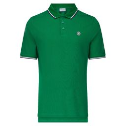 Men's Classic Polo with Championships Logo - Amazon
