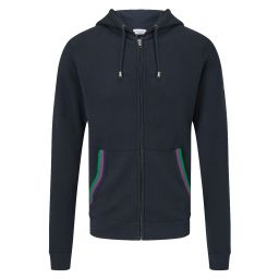 Men's Zip-Through Hoody - Midnight