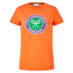 Women's Championships Logo T-Shirt - Cherry Tomato