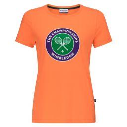 Women's Championships Logo T-Shirt - Coral