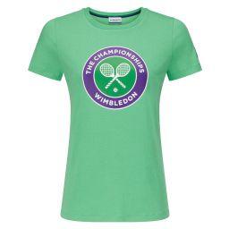 Women's Championships Logo T-Shirt - Green Spruce