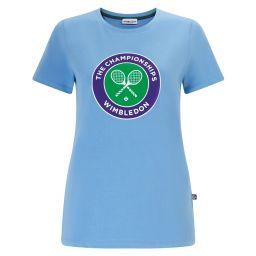 Women's Championships Logo T-Shirt - Heritage Blue