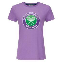 Women's Championships Logo T-Shirt - Hyacinth