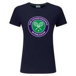 Women's Championships Logo T-Shirt - Midnight
