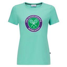 Women's Championships Logo T-Shirt - Mint
