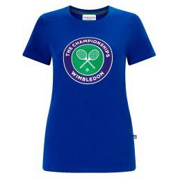 Women's Championships Logo T-Shirt - Ocean Blue