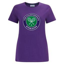 Women's Championships Logo T-Shirt - Pansy