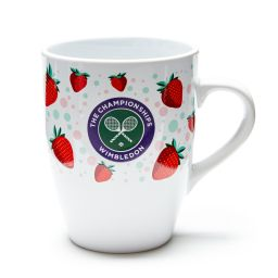 Strawberries and Championships Logo Mug