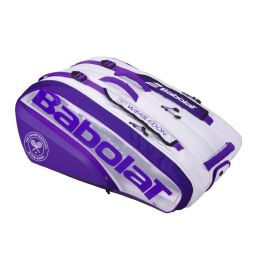Babolat 12 Rackets Bag - White & Purple