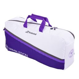 Babolat Duffle Pure Bag - White & Purple