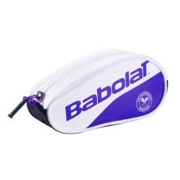 Babolat Pencil Case - White & Purple