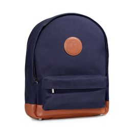 Wimbledon Canvas Backpack - Navy