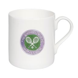 Wimbledon Illustration Logo Large Mug