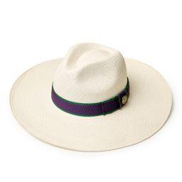 Women's Wide Brimmed Classic Panama Hat