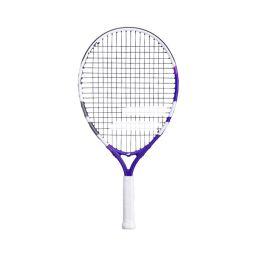 Babolat Junior Racket - White & Purple - 21inch