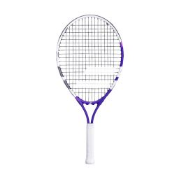 Babolat Junior Racket - White & Purple - 23inch