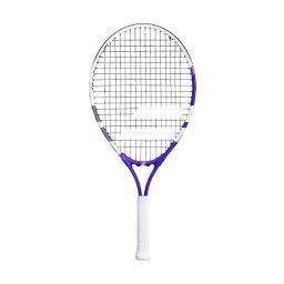 Babolat Junior Racket - White & Purple - 23inch
