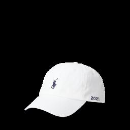 Polo Ralph Lauren Chino Ball Cap - White